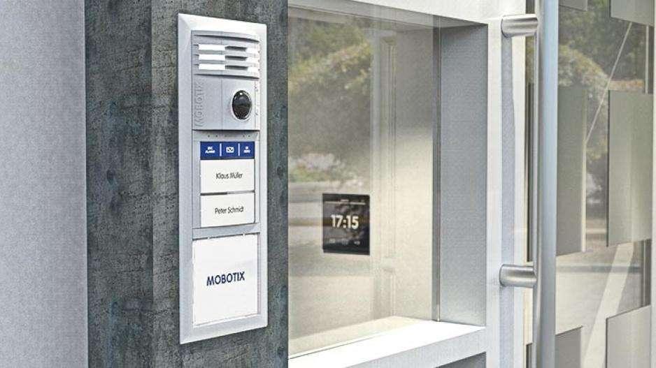 Mobotix BellRFID Bell Button Set F3