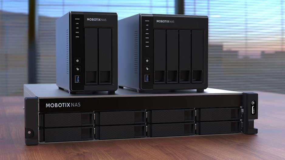MOBOTIX NAS 8-Bay/32 Channels (NAS-873UG)