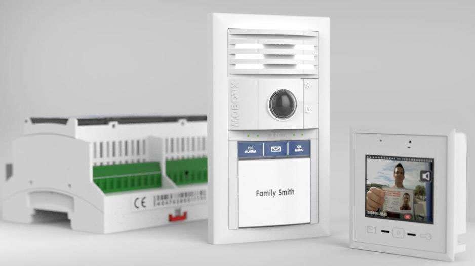 Mobotix BellRFID Bell Button Set XL1