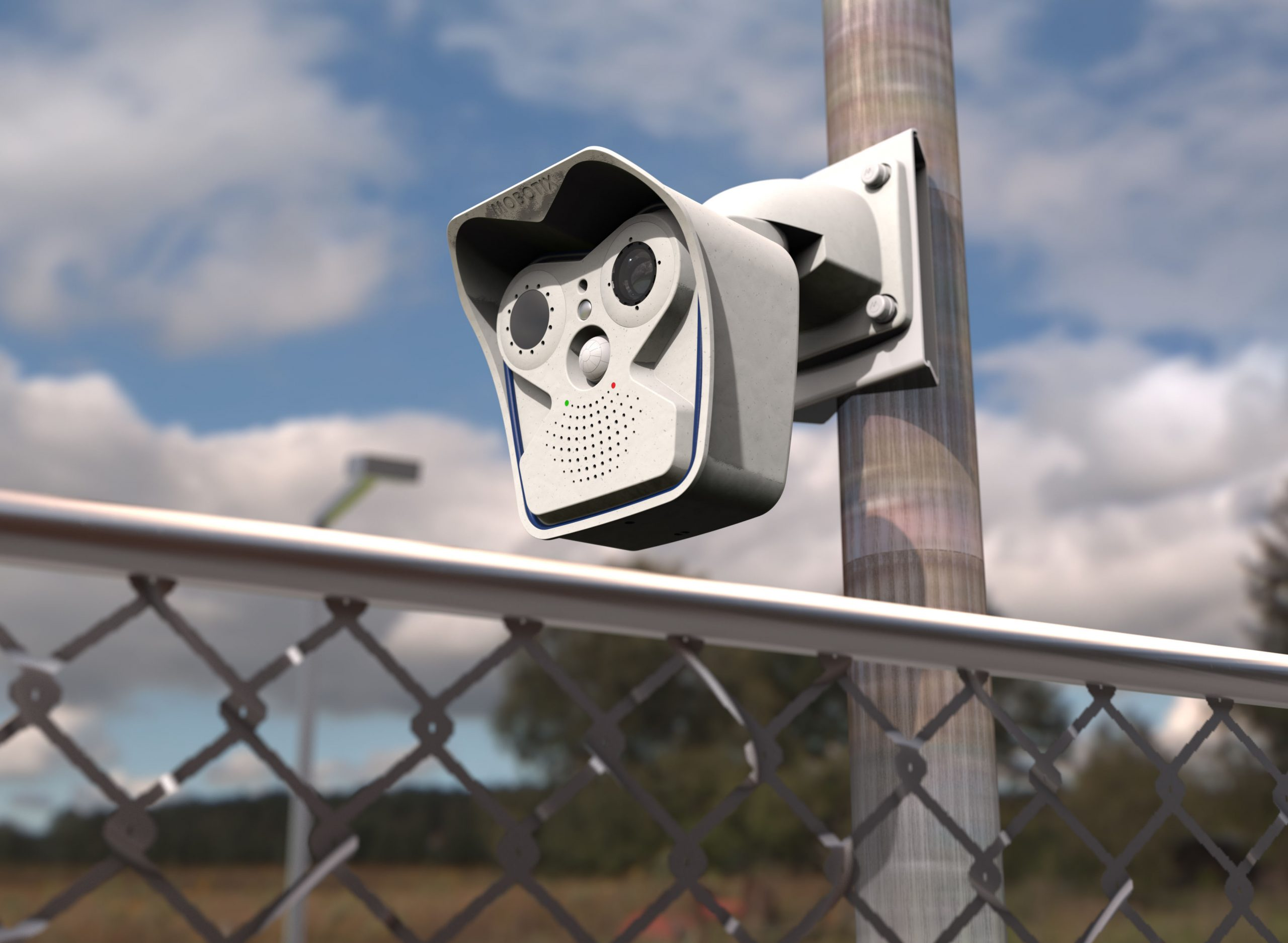 Mobotix M16B Thermographic Camera TR (EST), 50 mK, R237 (17°)
