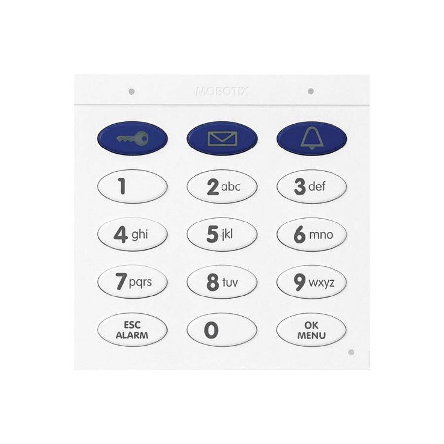 Mobotix Keypad With RFID Technology For T26, White