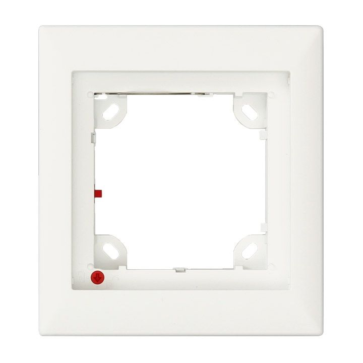 Mobotix FlatMount Frame, white