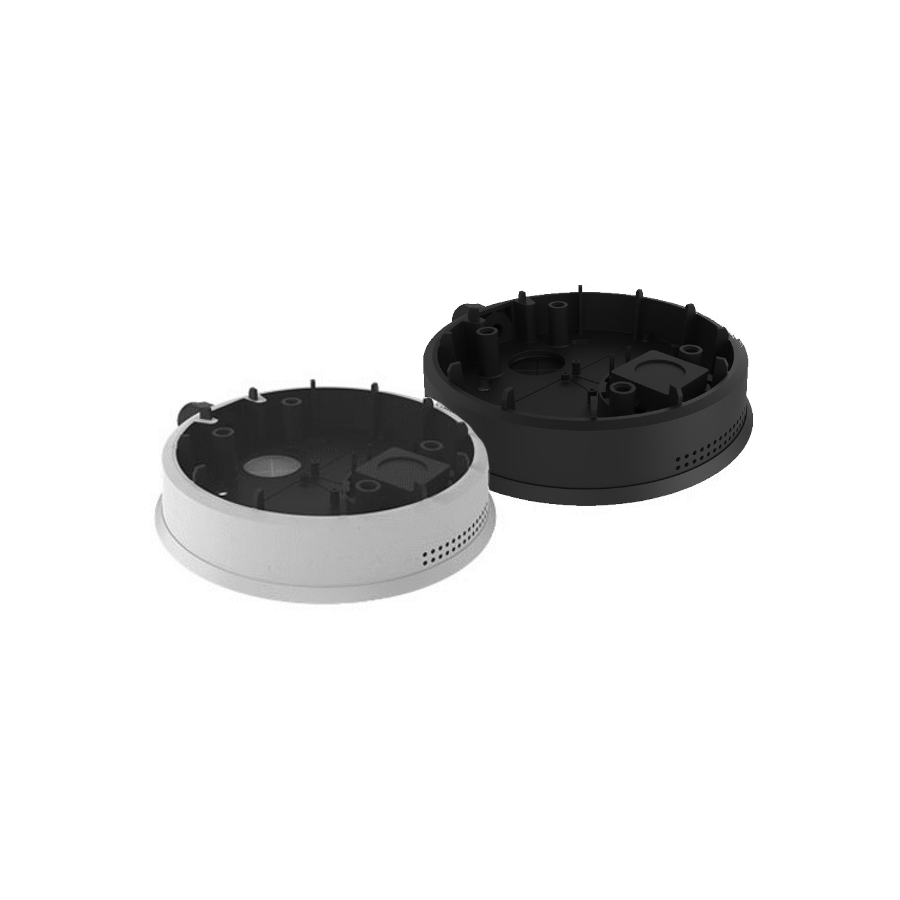 Mobotix On-Wall Mounting Set With Audio For v26, Black